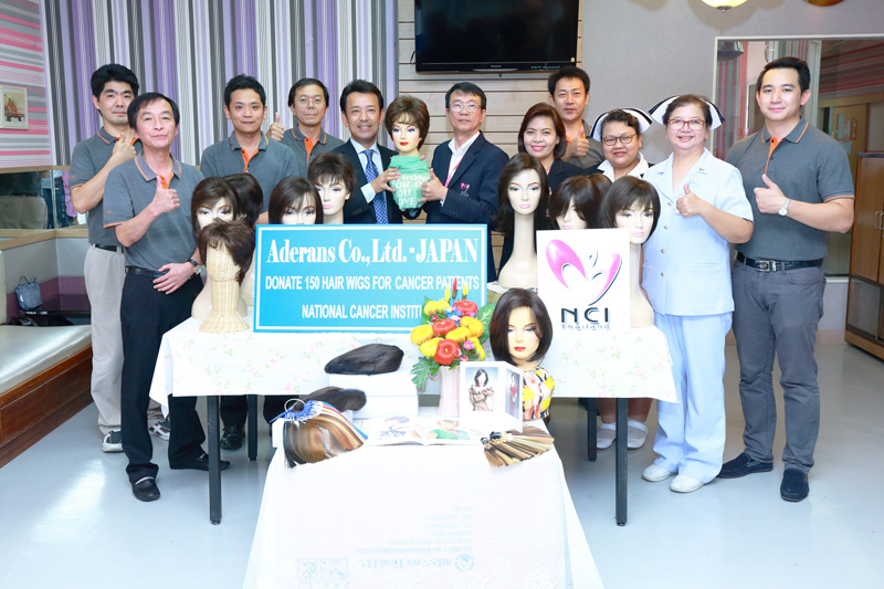 Wig Donation to Thailand Hospital