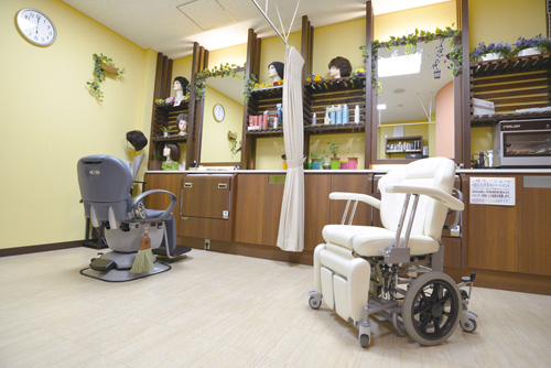 Barrier-free Barber and Beauty Salons