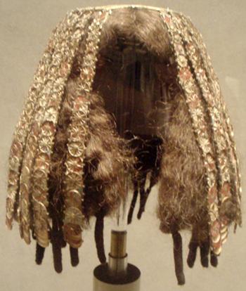 古代エジプト(B.C1479-1425頃)の女性用のかつら