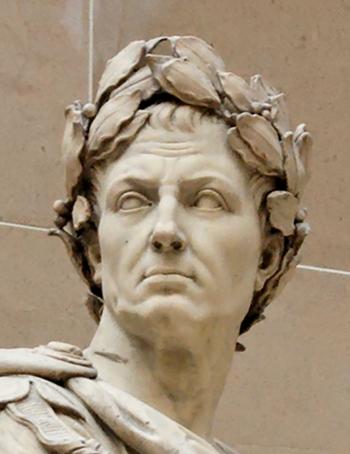 ローマ皇帝ジュリアス・シーザー