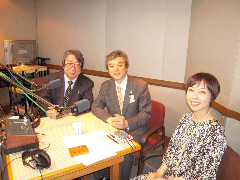 "The community FM station special program ""KIZUNA Station"""