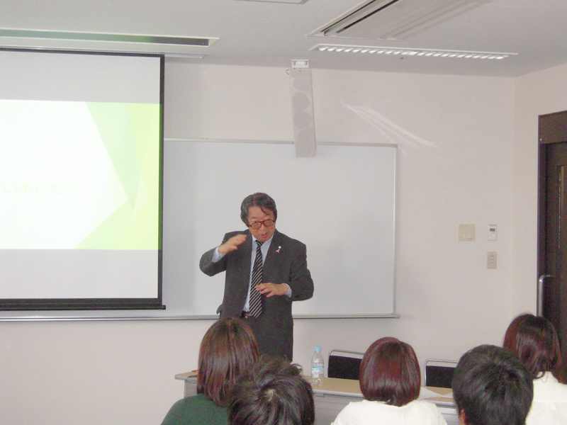 CSR research at prof. Takano's seminar in Faculty of Safety Science, Kansai University