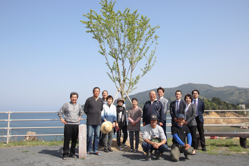 Fontaine Green Forest Campaign in Tohoku Area of Japan