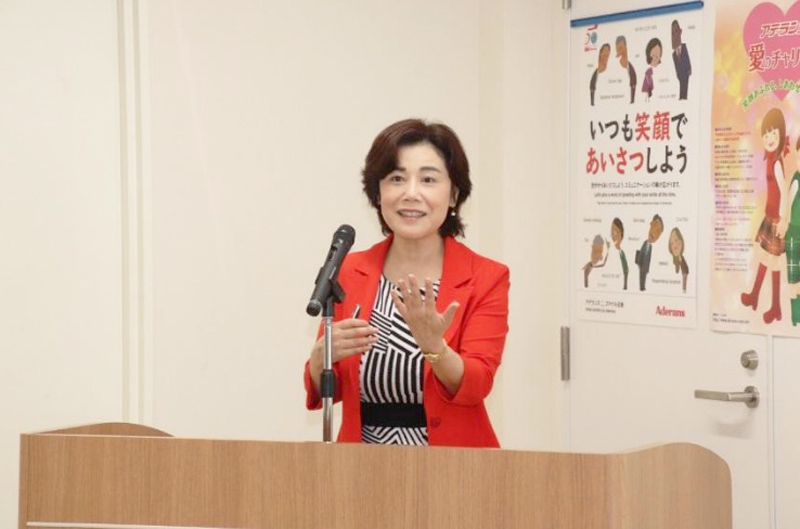 2019.06.24 Held Blind Makeup seminar Supporting JAPAN CAREMAKE ASSOCIATION