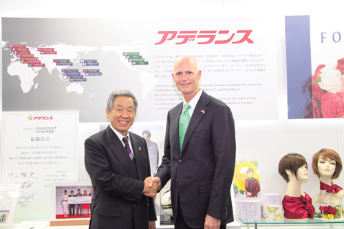 Visit by the Governor of Florida, U.S.