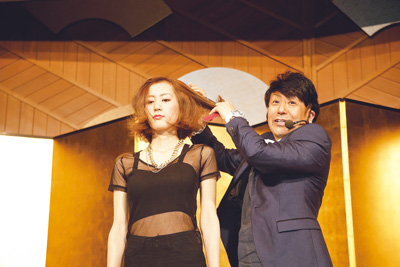 Mr. Michio Nozawa for Fontaine Exclusive Hair Producer
