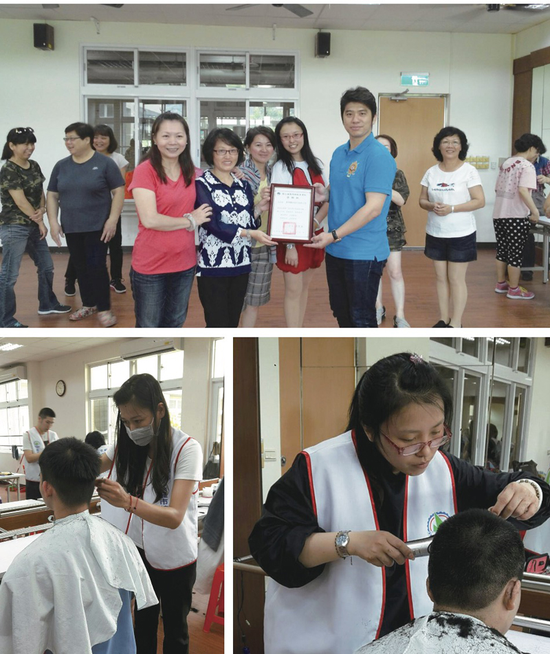 (Taiwan)Free Haircut at Disabled Facilities