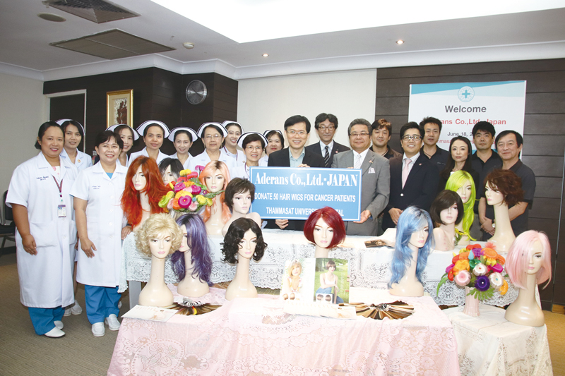Donation of Wigs to Hospitals