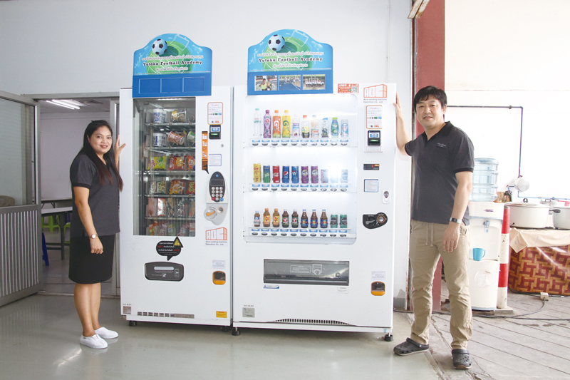 (Thailand)Installation of Welfare Support Vending Machines
