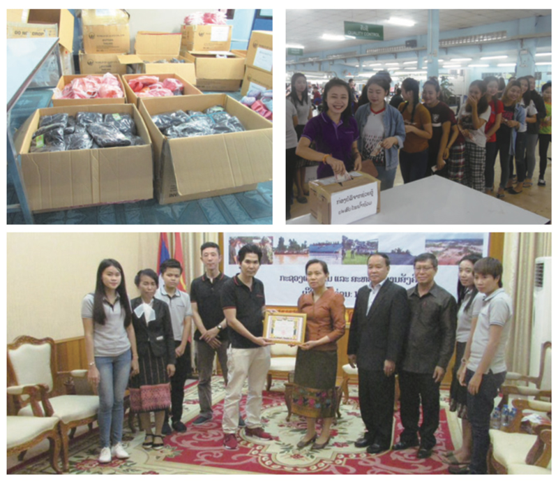 (Laos)Provide Donations and Relief Supplies
